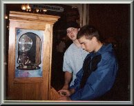 Brandon and Ryan making pennies 1990's