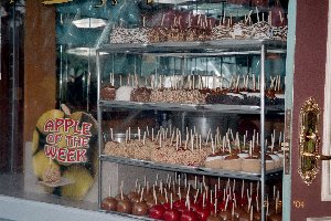 Universal's Dipped Apples