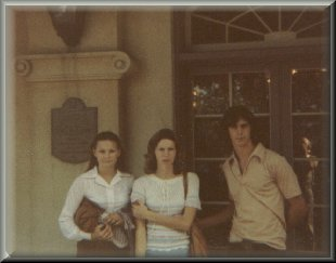 Carrie, Sinda, Tom with Bobby taking the pic 1978?
