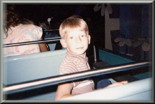 Ryan on It's A Small World 9/1986